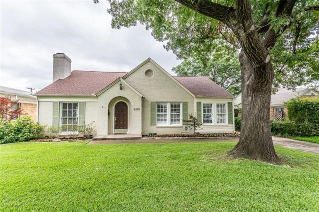6355 Malcolm Drive, Dallas, TX 75214 (MLS #13623529) :: Frankie Arthur Real Estate