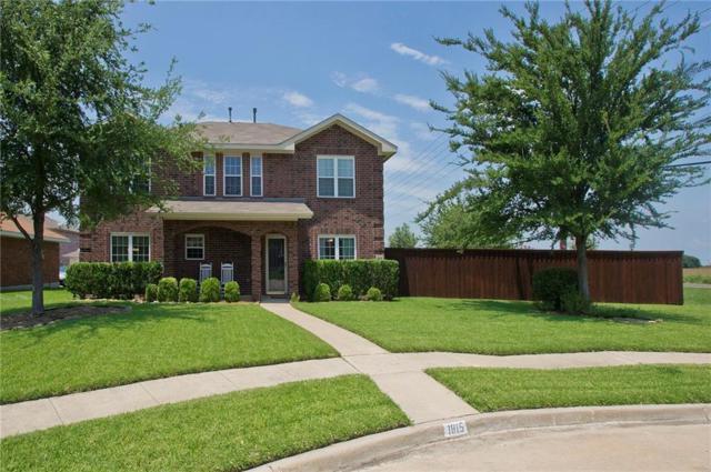 1815 Giddings Court, Allen, TX 75002 (MLS #13624571) :: The Good Home Team