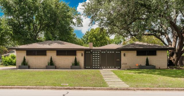 4309 Westdale Drive, Fort Worth, TX 76109 (MLS #13626174) :: The Mitchell Group