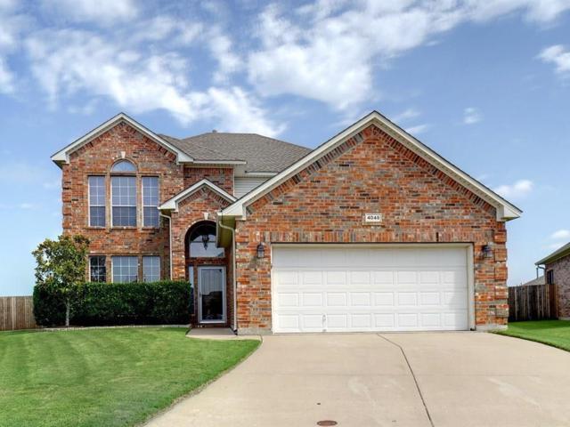 4045 Claymore Lane, Fort Worth, TX 76244 (MLS #13629632) :: Team Hodnett