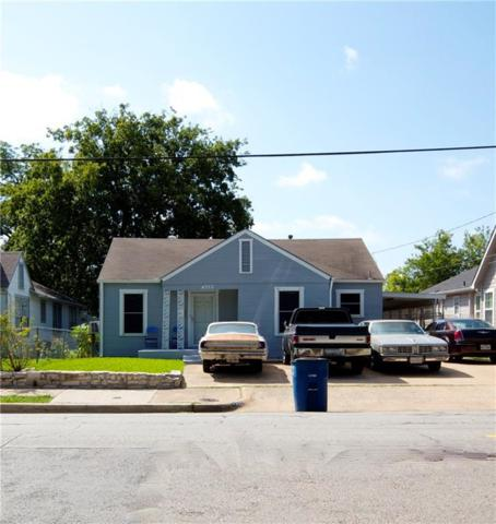 4322 Capitol Avenue, Dallas, TX 75204 (MLS #13630096) :: Team Hodnett