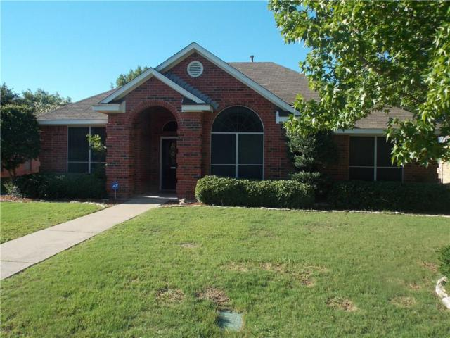 1207 Cloudy Sky Lane, Lewisville, TX 75067 (MLS #13630430) :: Team Tiller