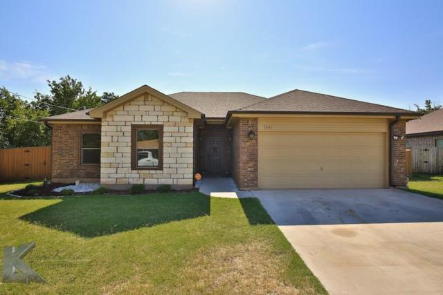 1541 Lytle Acres Drive, Abilene, TX 79602 (MLS #13630994) :: The Tonya Harbin Team