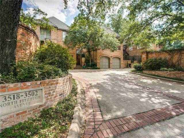 3514 N Fitzhugh Avenue, Dallas, TX 75204 (MLS #13631956) :: Century 21 Judge Fite Company