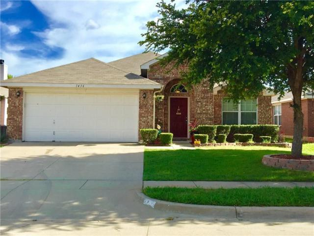 1436 Broken Spoke Court, Fort Worth, TX 76131 (MLS #13632316) :: The Cheney Group