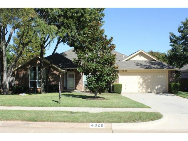 4920 Wolf Creek Trail, Flower Mound, TX 75028 (MLS #13632322) :: Frankie Arthur Real Estate
