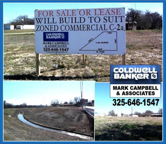 620 N Fisk Avenue, Brownwood, TX 76801 (MLS #13632678) :: RE/MAX Pinnacle Group REALTORS