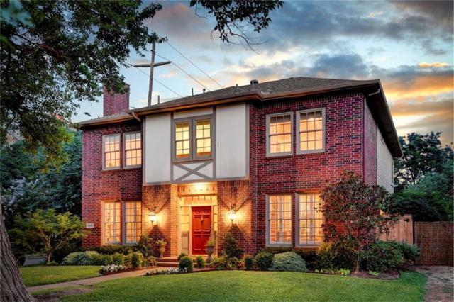 2901 Westminster Avenue, University Park, TX 75205 (MLS #13632971) :: Team Hodnett