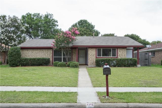 1141 Midway Drive, Richardson, TX 75081 (MLS #13633057) :: Team Tiller