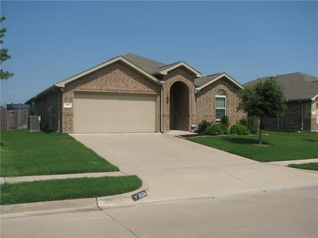 809 Graham Drive, Burleson, TX 76028 (MLS #13633097) :: The Mitchell Group