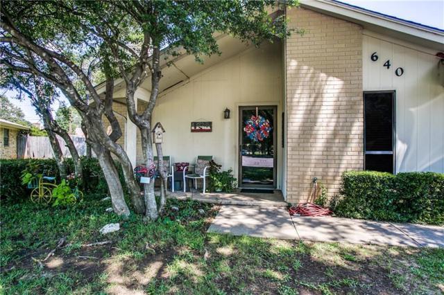 640 Deborah Court, Burleson, TX 76028 (MLS #13633224) :: The Mitchell Group