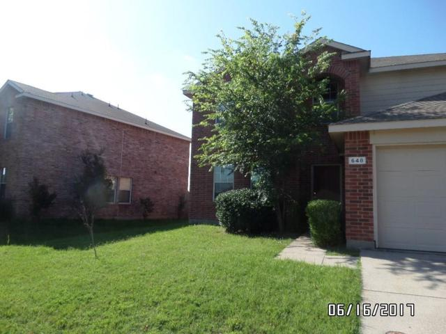 648 Horn Street, Crowley, TX 76036 (MLS #13633375) :: The Mitchell Group