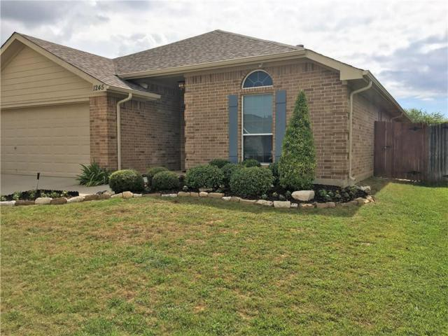 1245 Camden Yard Drive, Fort Worth, TX 76028 (MLS #13633858) :: RE/MAX Elite