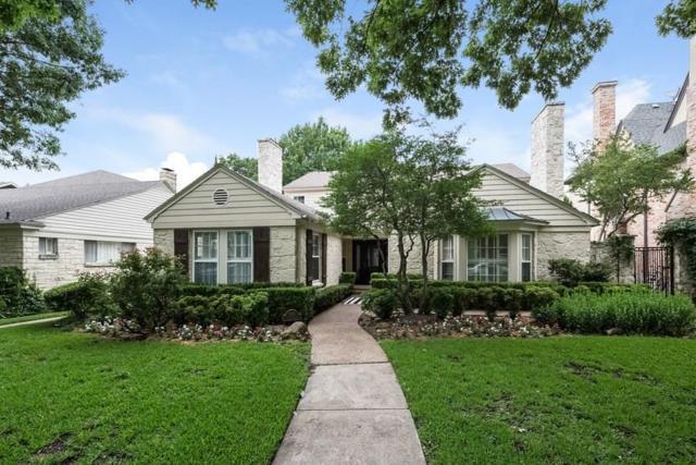 3316 Greenbrier Drive, University Park, TX 75225 (MLS #13634204) :: Robbins Real Estate