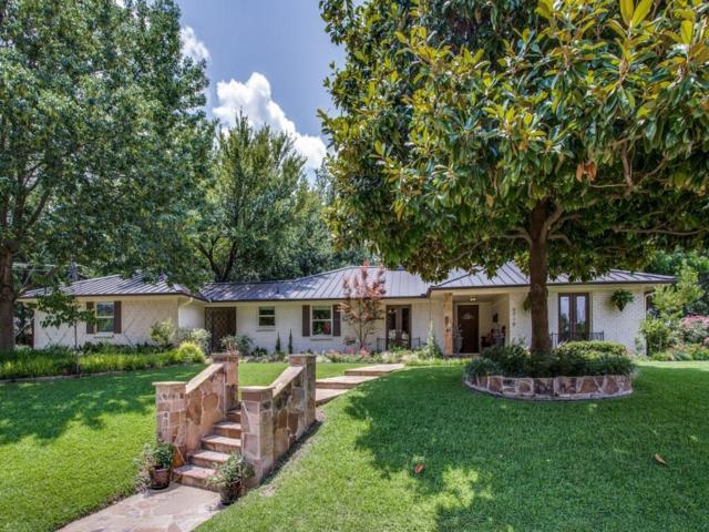 6910 Baxtershire Drive, Dallas, TX 75230 (MLS #13641048) :: Team Hodnett