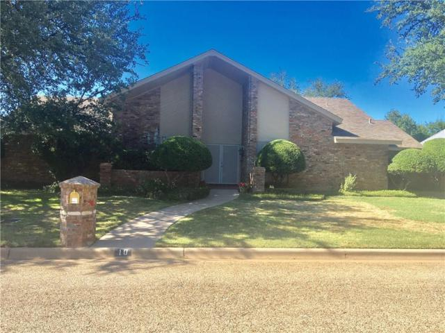 10 Cypress Point Street, Abilene, TX 79606 (MLS #13645459) :: The Tonya Harbin Team