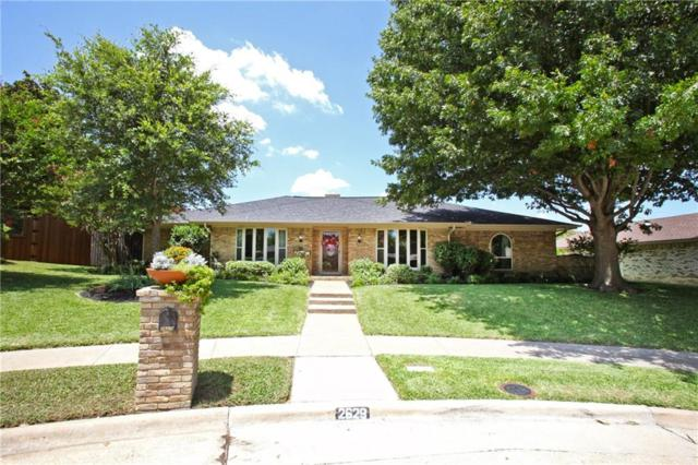 2629 Webster Court, Plano, TX 75075 (MLS #13645479) :: Van Poole Properties