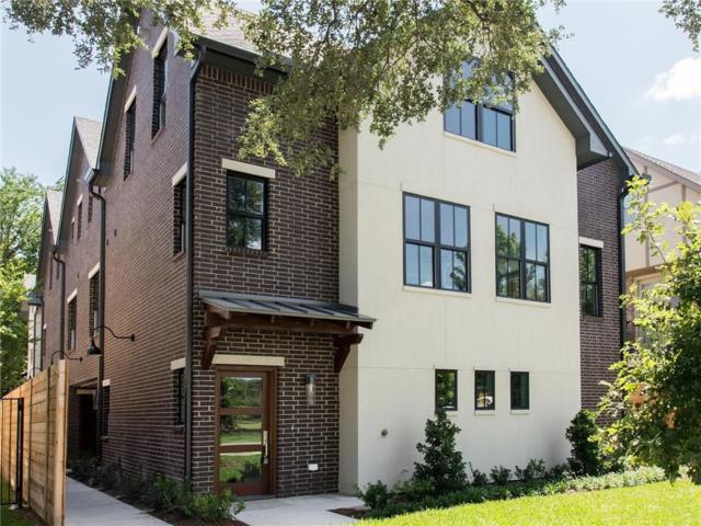 4121 Grassmere Lane #2, University Park, TX 75205 (MLS #13648340) :: Team Hodnett