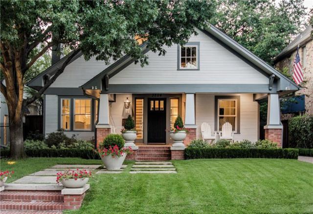 3504 Harvard Avenue, Highland Park, TX 75205 (MLS #13651202) :: Frankie Arthur Real Estate