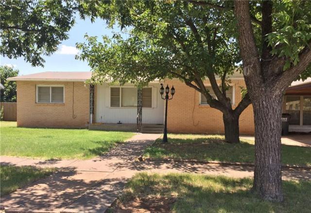 1420 Avenue K, Anson, TX 79501 (MLS #13651692) :: The Tonya Harbin Team