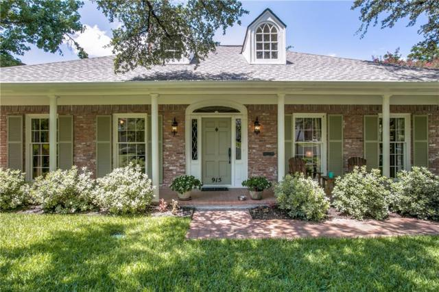 915 Knott Place, Dallas, TX 75208 (MLS #13651850) :: Real Estate By Design