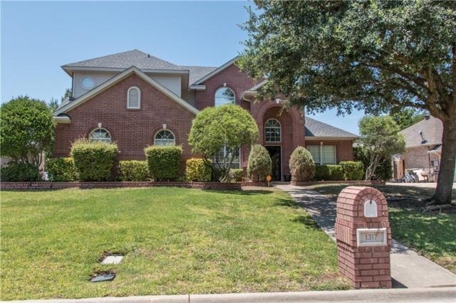 1317 Waterwood Drive, Mansfield, TX 76063 (MLS #13652144) :: Exalt Realty