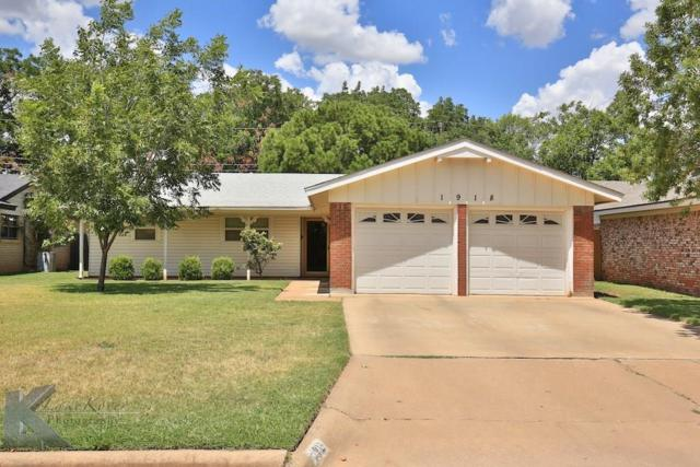 1918 Glendale Drive, Abilene, TX 79603 (MLS #13653889) :: The Tonya Harbin Team