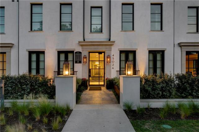 4502 Abbott Avenue #204, Highland Park, TX 75205 (MLS #13654539) :: Frankie Arthur Real Estate