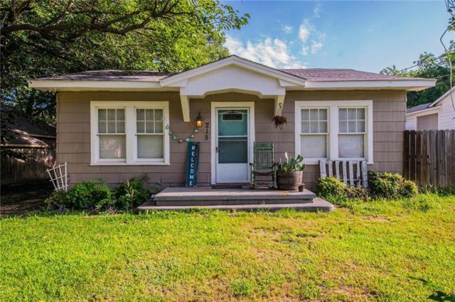 215 E 3rd Street, Weatherford, TX 76086 (MLS #13654969) :: Team Hodnett