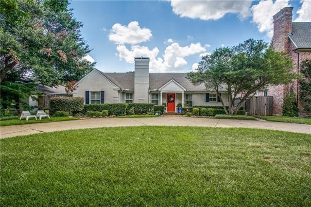 3205 Villanova Street, University Park, TX 75225 (MLS #13655494) :: Van Poole Properties
