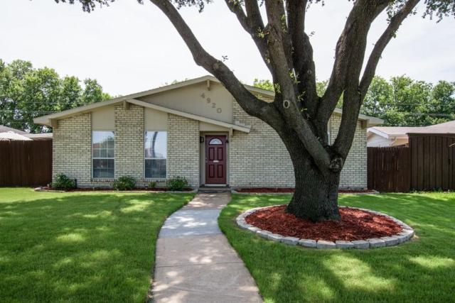 4920 Arbor Glen Road, The Colony, TX 75056 (MLS #13656138) :: Kindle Realty