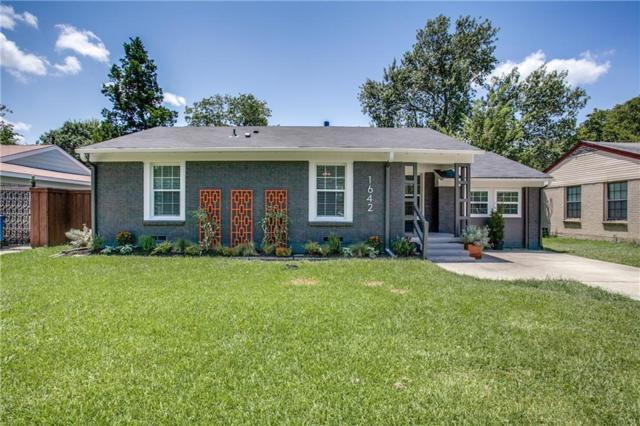 1642 Crest Ridge Drive, Dallas, TX 75228 (MLS #13657135) :: Kindle Realty