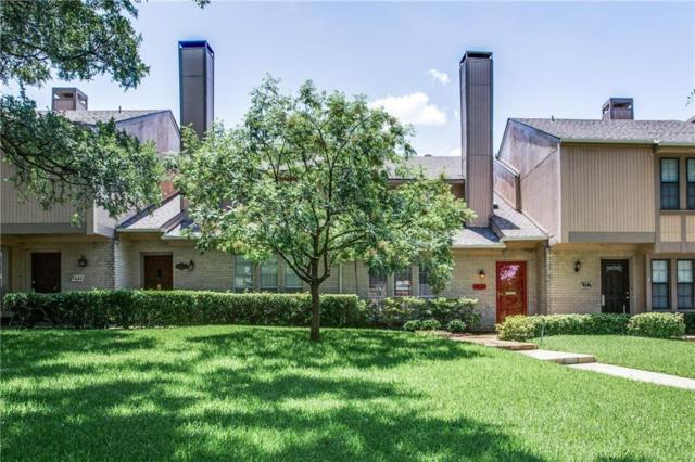 7618 Pebblestone Drive #11, Dallas, TX 75230 (MLS #13657473) :: Exalt Realty
