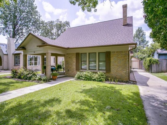 717 Lipscomb Avenue, Dallas, TX 75214 (MLS #13657991) :: MLux Properties