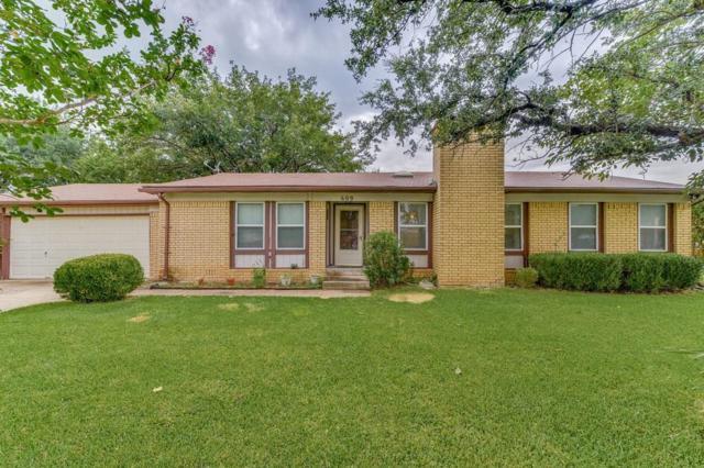 609 Prairie View Drive, Mansfield, TX 76063 (MLS #13658053) :: MLux Properties