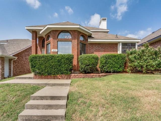 1810 Green Oak Drive, Lewisville, TX 75067 (MLS #13658300) :: Kindle Realty