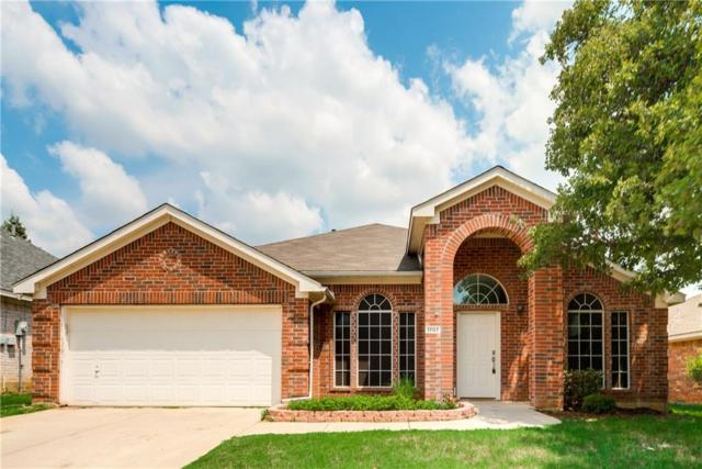 1707 Falcon Drive, Corinth, TX 76210 (MLS #13665594) :: Team Tiller