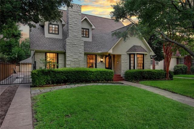 4019 Southwestern Boulevard, University Park, TX 75225 (MLS #13667678) :: Team Hodnett