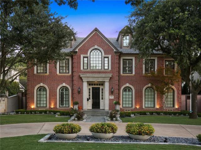 3809 Caruth Boulevard, University Park, TX 75225 (MLS #13669226) :: Team Hodnett
