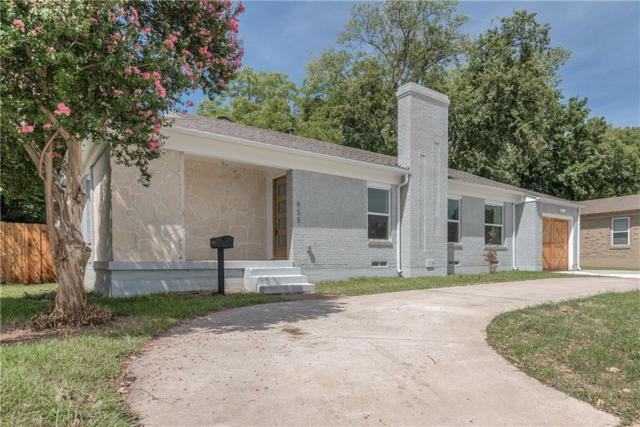 655 Peavy Road, Dallas, TX 75218 (MLS #13669372) :: Team Tiller