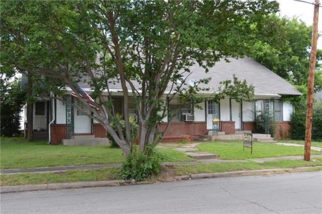 1406 Sycamore Street, Commerce, TX 75428 (MLS #13669777) :: The FIRE Group at Keller Williams