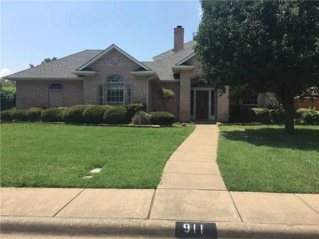 911 Greenway Circle, Duncanville, TX 75137 (MLS #13671839) :: Pinnacle Realty Team