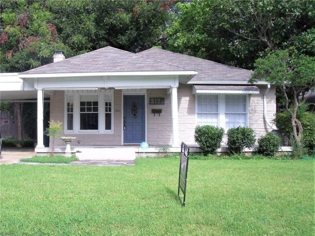 2121 Western Avenue, Fort Worth, TX 76107 (MLS #13672252) :: The Mitchell Group