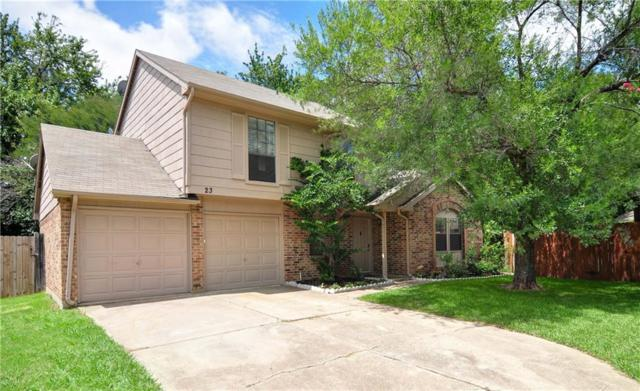 23 Crockett Court, Allen, TX 75002 (MLS #13672672) :: The Good Home Team