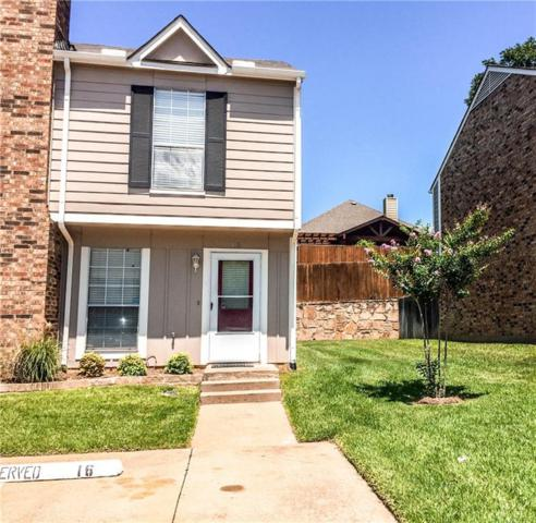 16 Abbey Road, Euless, TX 76039 (MLS #13672864) :: The Mitchell Group