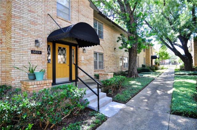 5819 Sandhurst Lane C, Dallas, TX 75206 (MLS #13673287) :: Team Hodnett