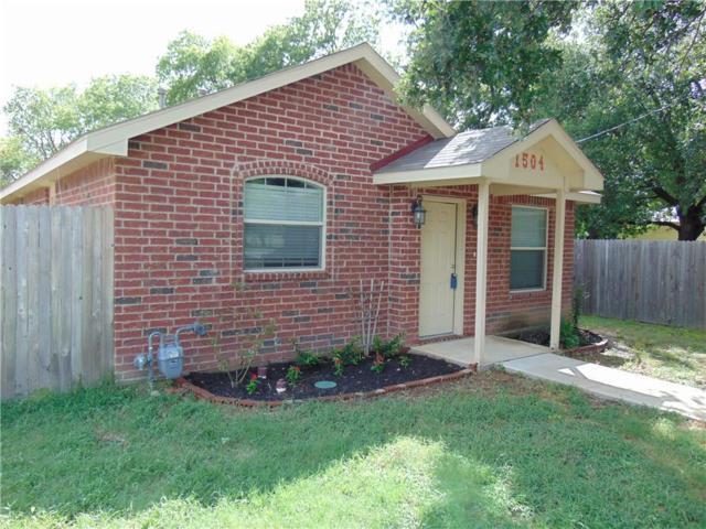 1504 Morse Street, Denton, TX 76205 (MLS #13673350) :: RE/MAX Elite