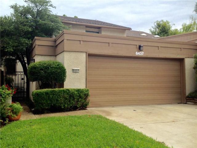 6437 Cedar Hollow Drive, Dallas, TX 75248 (MLS #13673561) :: Team Tiller