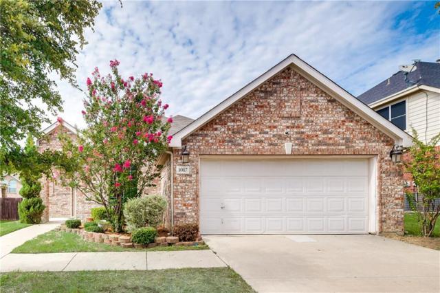 1017 Wagon Trail Drive, Little Elm, TX 75068 (MLS #13673792) :: The Good Home Team