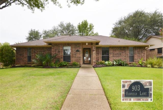 903 Fairfield Lane, Flower Mound, TX 75028 (MLS #13674845) :: Frankie Arthur Real Estate